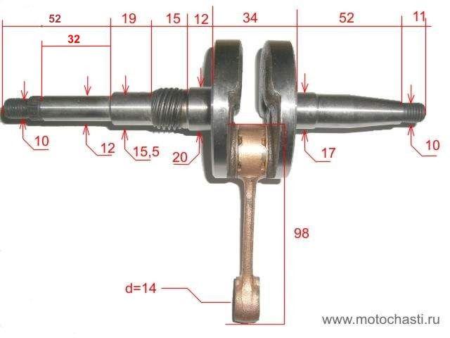 Нужно ли менять коленвал при тюнинге скутера – основные правила