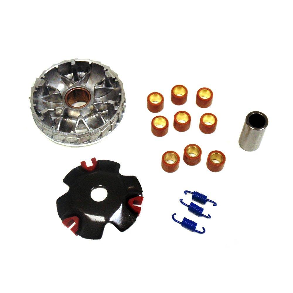 Каталог роликов вариатора для скутеров Peugeot — размеры и вес