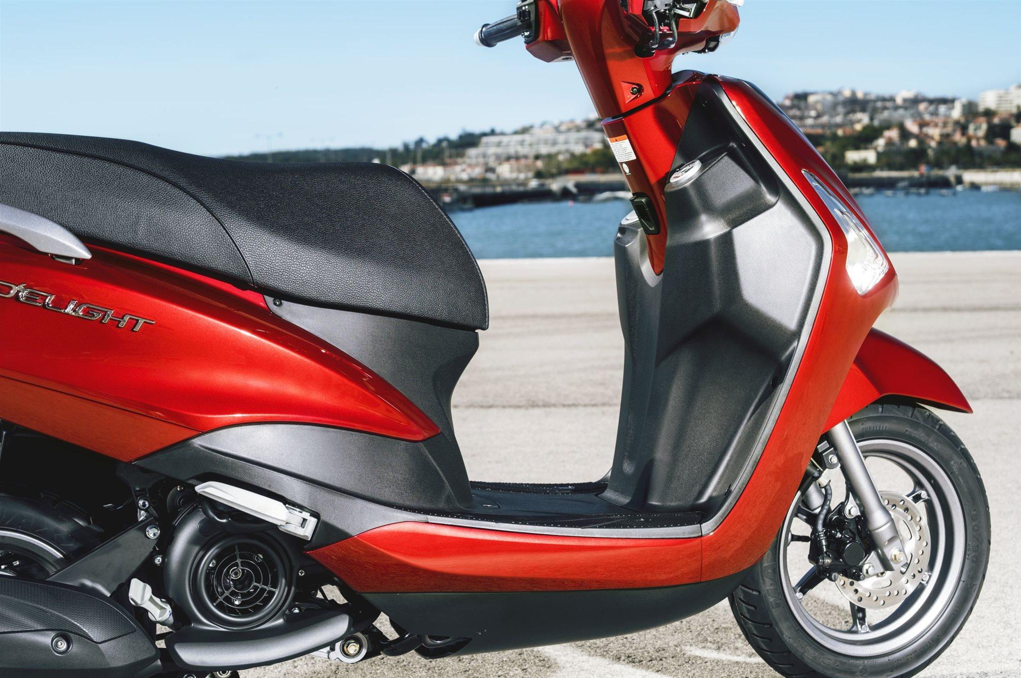Стильный скутер Yamaha D'elight за 2500 долларов