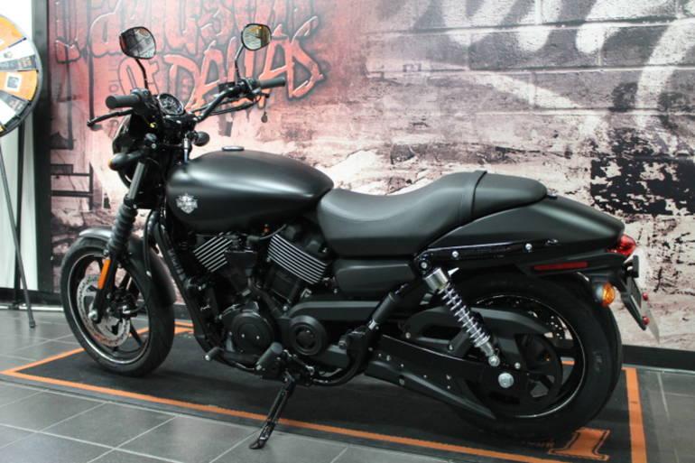 Harley Davidson Street 750 — Индийский американец