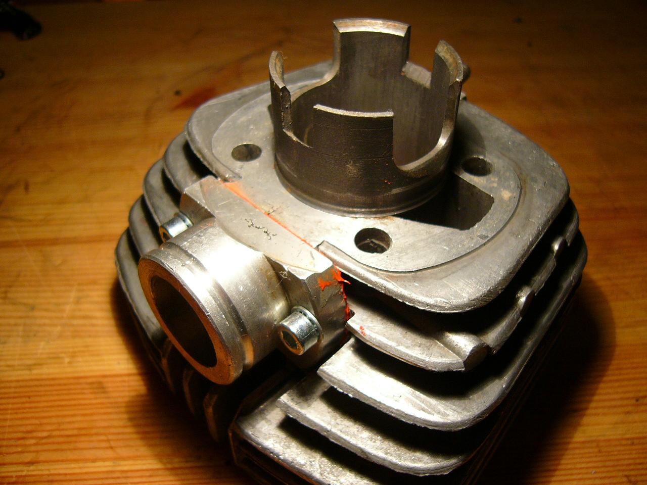 Форсировка отечественного двухтактного двигателя