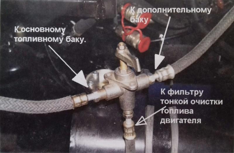 Неисправность топливного краника может привести к большим неприятностям