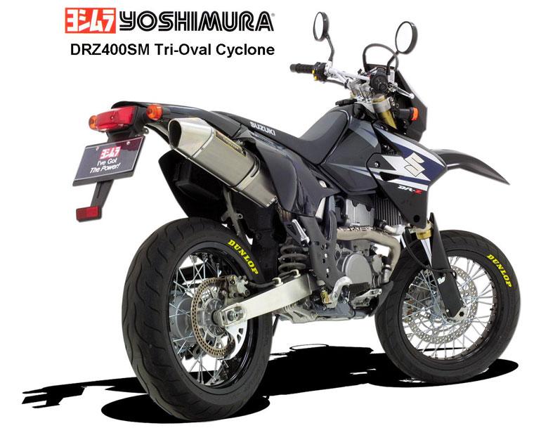Suzuki DRZ 400: эндуро и мотард