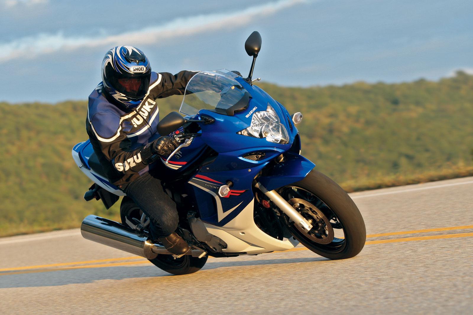 Тест-драйв мотоцикла Suzuki GSX650F