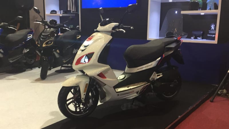 Peugeot Speedfight 125 — мощнее, быстрее, больше