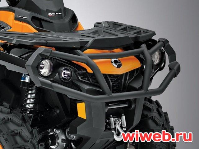 Outlander MAX 1000 XT – одно- и двуместный туристический квадроцикл