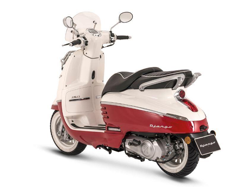 Peugeot Django — французская альтернатива легендарным скутерам Vespa