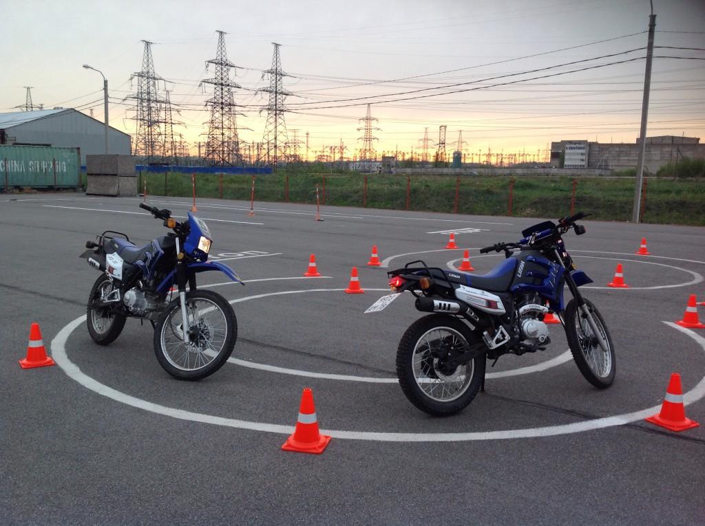 Где учиться вождению на мотоцикле?