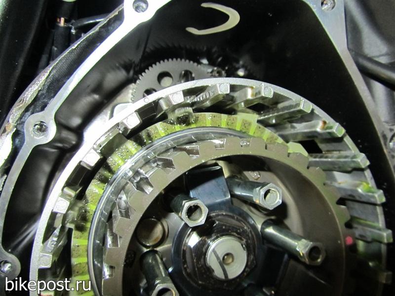 Доработка сцепления и коробки передач мотоциклов Ямаха