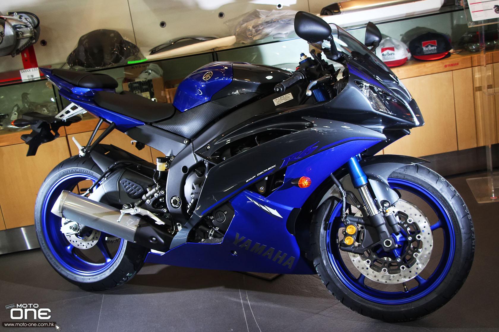 Yamaha R6 — 600 кубов ярости