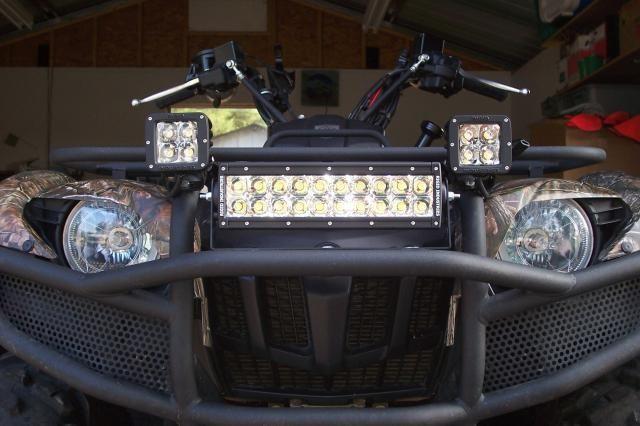 Делаем светодиодные фары квадроциклу своими руками