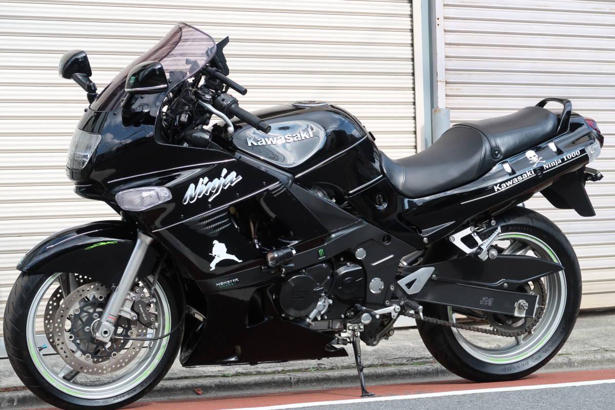 Kawasaki ZZR 400: красота и мощность за скромную сумму.