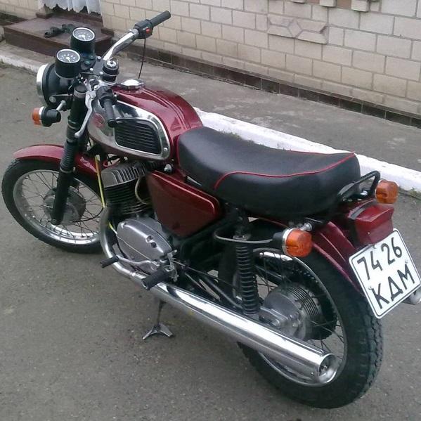 Описание классического мотоцикла Чезет 350