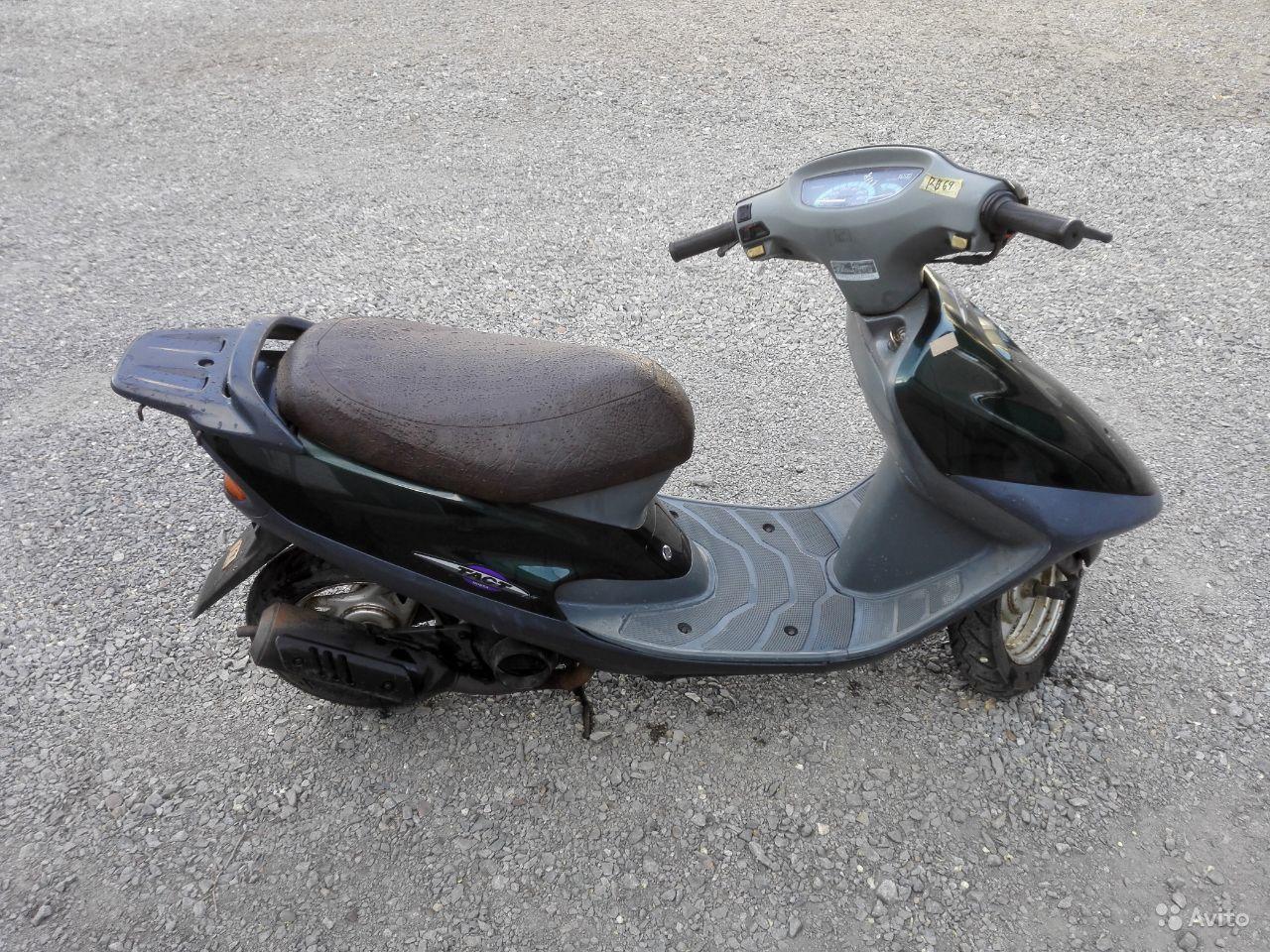 Руководство для скутера Honda Tact 30 модификации SZ50ST