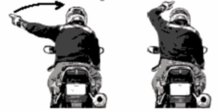 Официальные и неофициальные жесты мотоциклистов