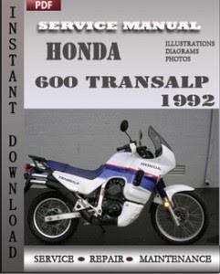 Мануалы и документация для Honda XL700V Transalp