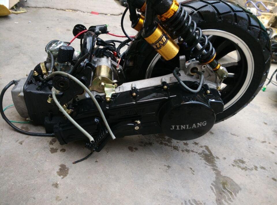Тюнинг редуктора китайского скутера с двигателем 139QMB