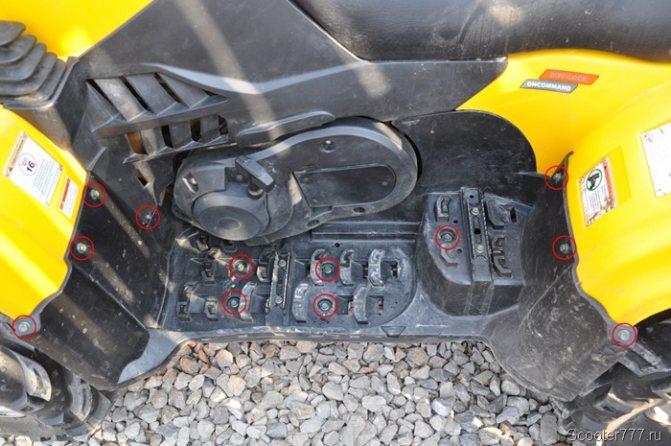 Замена масла в квадроцикле - помощь автолюбителю