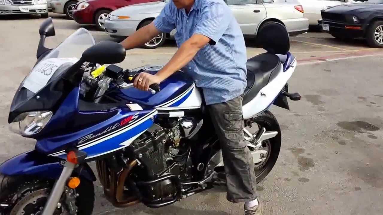 Тест-драйв мотоцикла Suzuki GSF1200 Bandit
