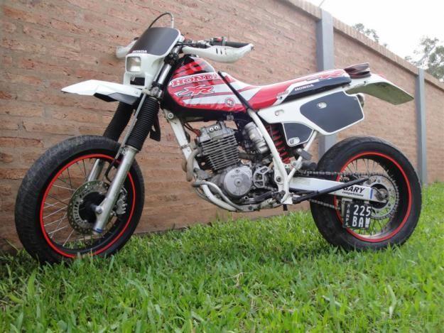Тест-драйв мотоцикла Honda XR250 Baja
