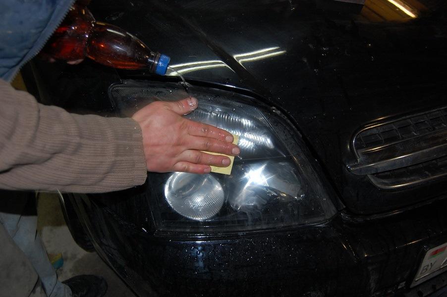 Методы ремонта фар. Как спасти фары от сколов и трещин