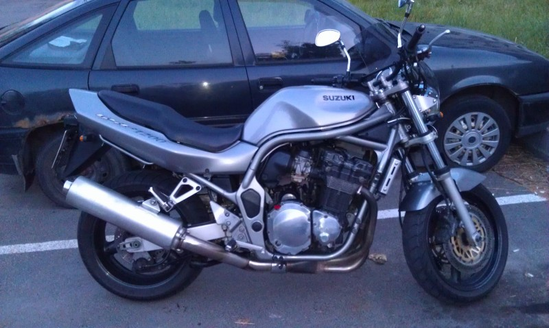 Мотоцикл Suzuki Bandit (Сузуки Бандит) GSF1200 краткий обзор