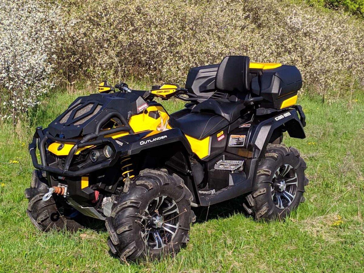 Квадроцикл BRP Outlander Max 800 — готов выполнять самую различную работу