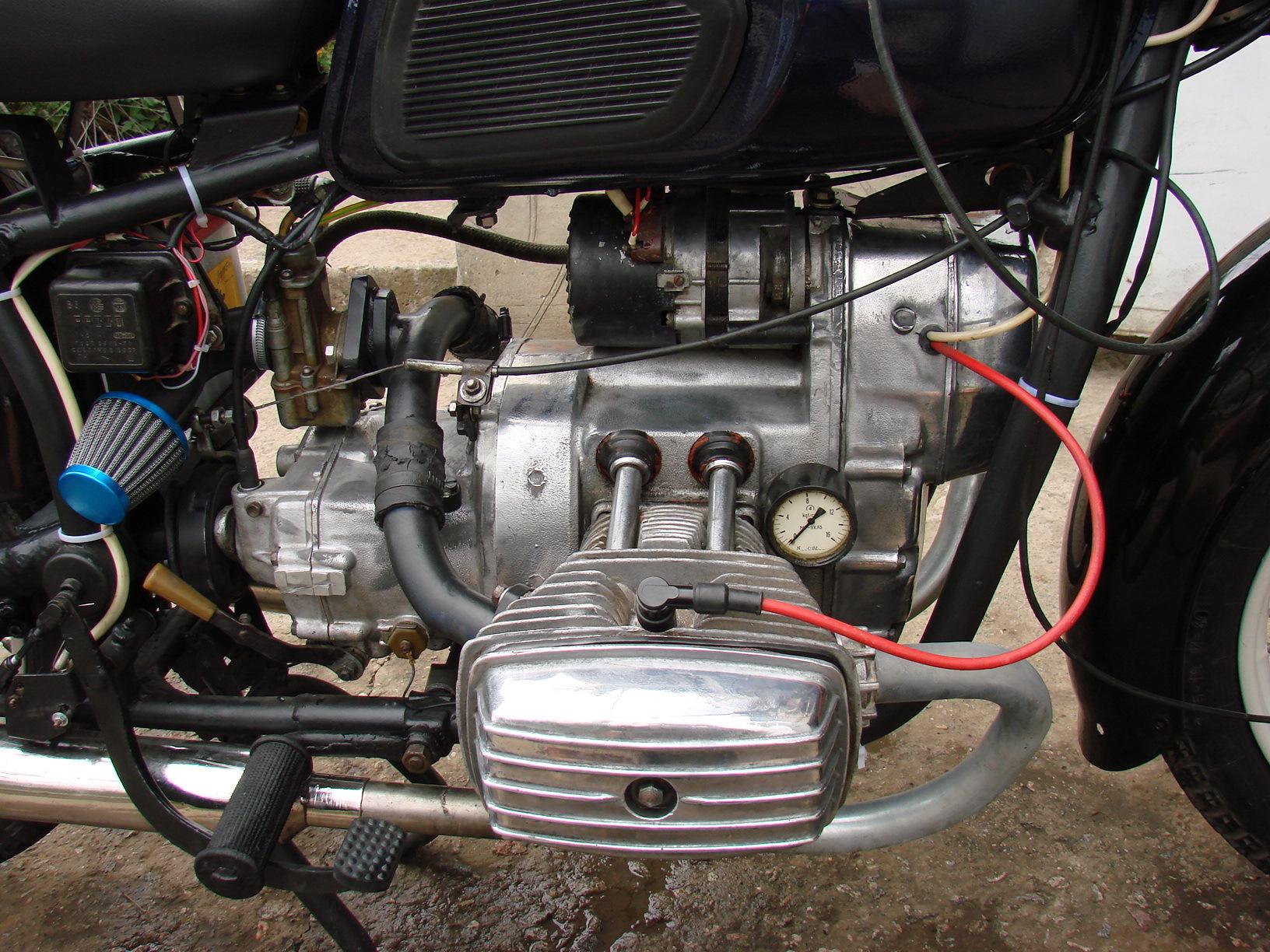 Установка одного карбюратора на мотоцикл Урал