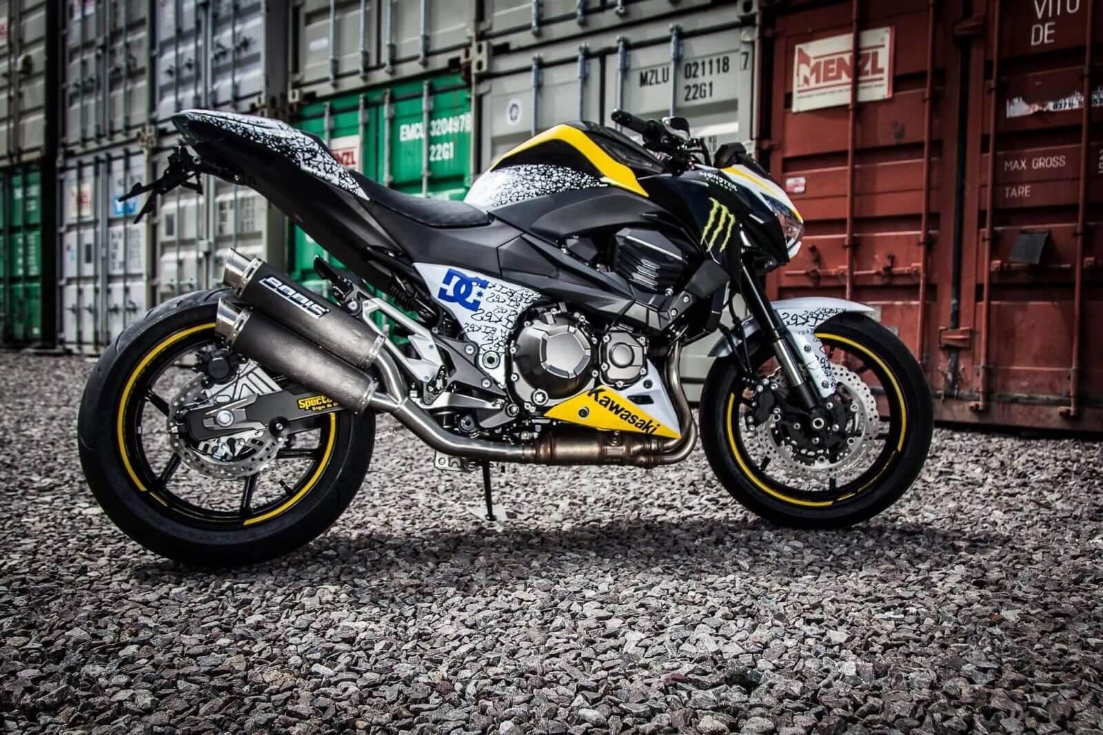 Kawasaki Z800 - Стиль, ярость и неудержимая мощь