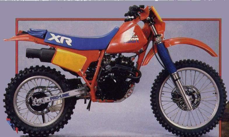 Honda XR 250 (R, Baja, Motard)