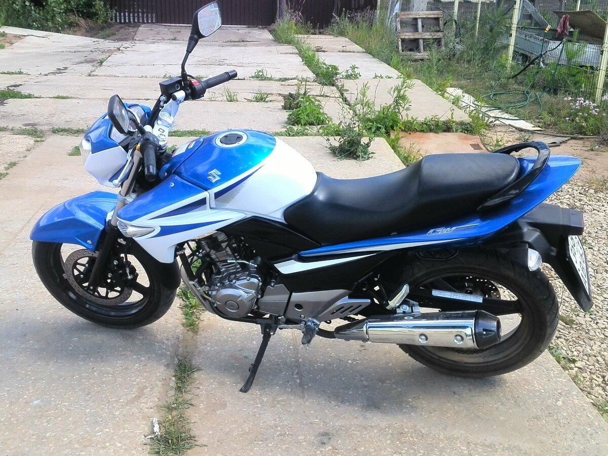 Тест-драйв мотоцикла Suzuki GSR250 (GW250)