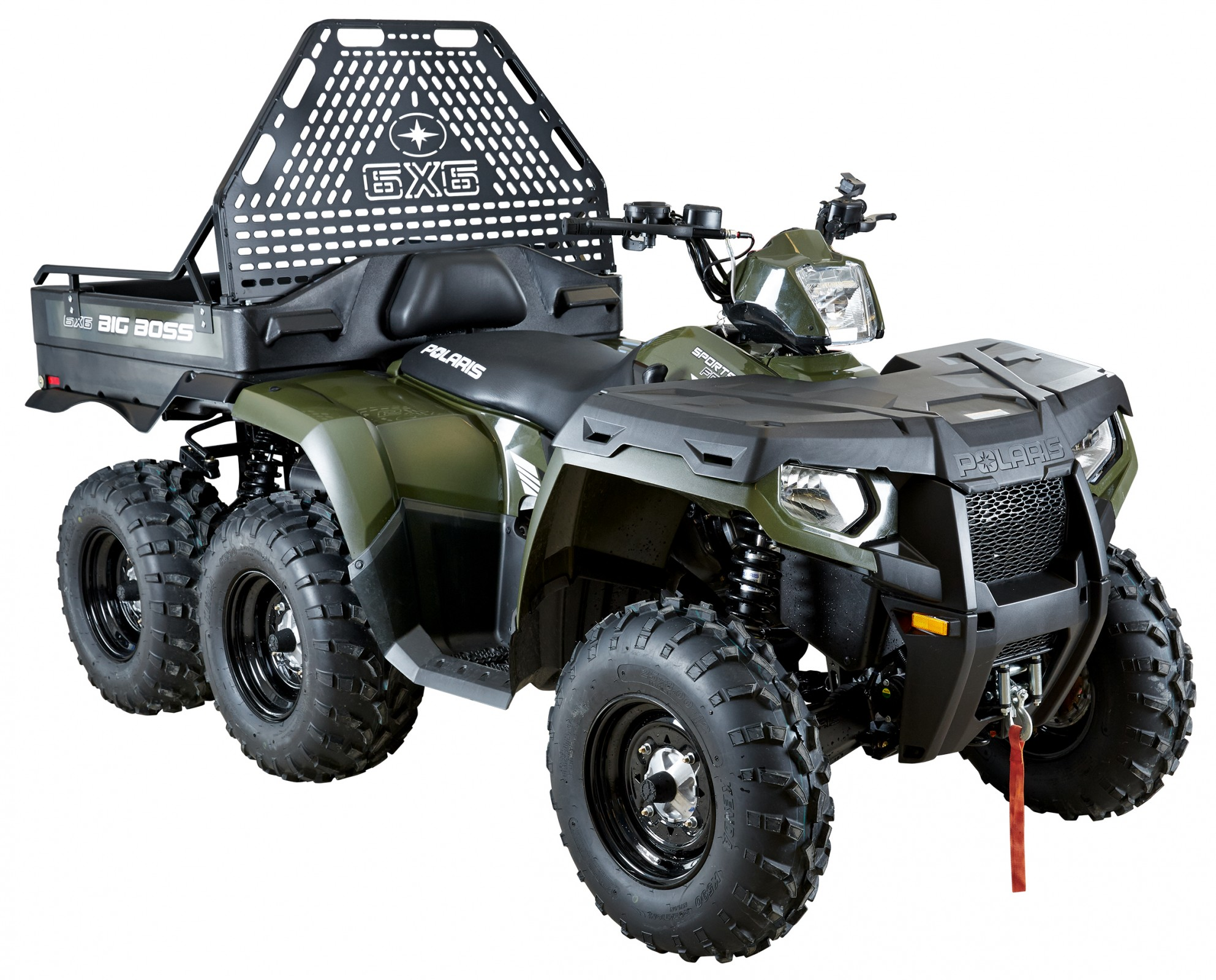 Квадроцикл Polaris Sportsman 800 Big Boss 6x6 Forest