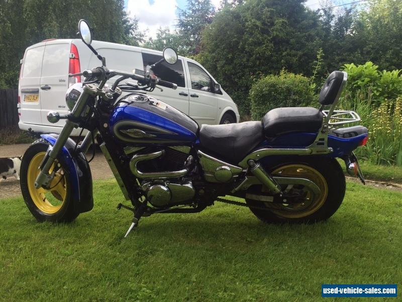 Тест-драйв мотоцикла Suzuki VZ1600 Marauder