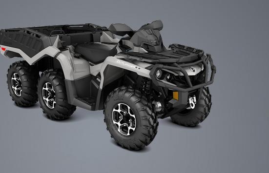 Can-Am Outlander 6x6 1000 XT – шестиколесная рабочая лошадка