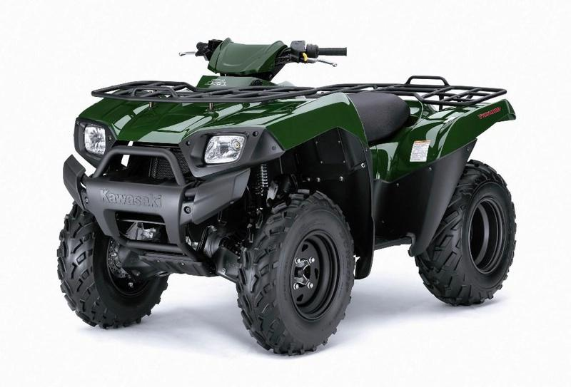 Квадроциклы Kawasaki (Кавасаки) — обзор модельного ряда