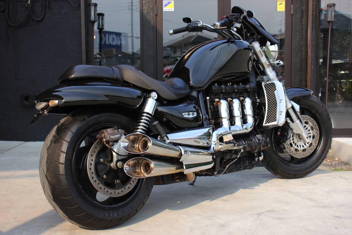 Triumph Rocket III (Триумф Рокет 3) — обзор мотоцикла для настоящих мужчин