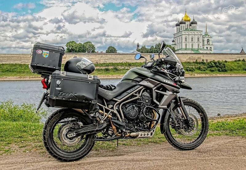 Triumph Tiger 800: Путешествия по-английски