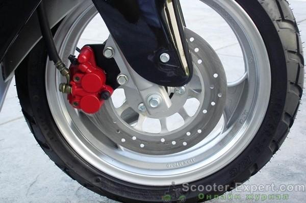 Барабанные тормоза на скутере, преимущества и недостатки
