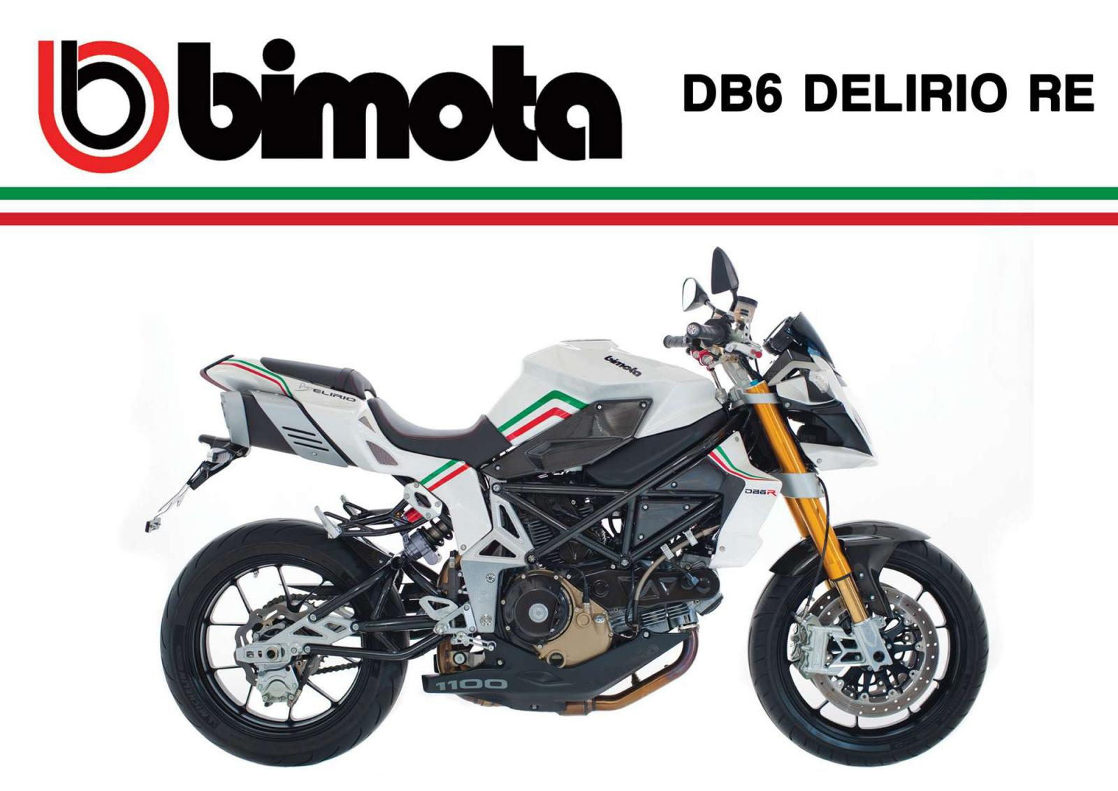 Bimota DB6 Delirio Azzurro