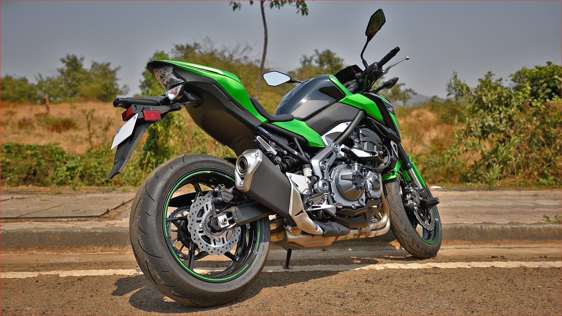 Тест-драйв мотоцикла Kawasaki Z750