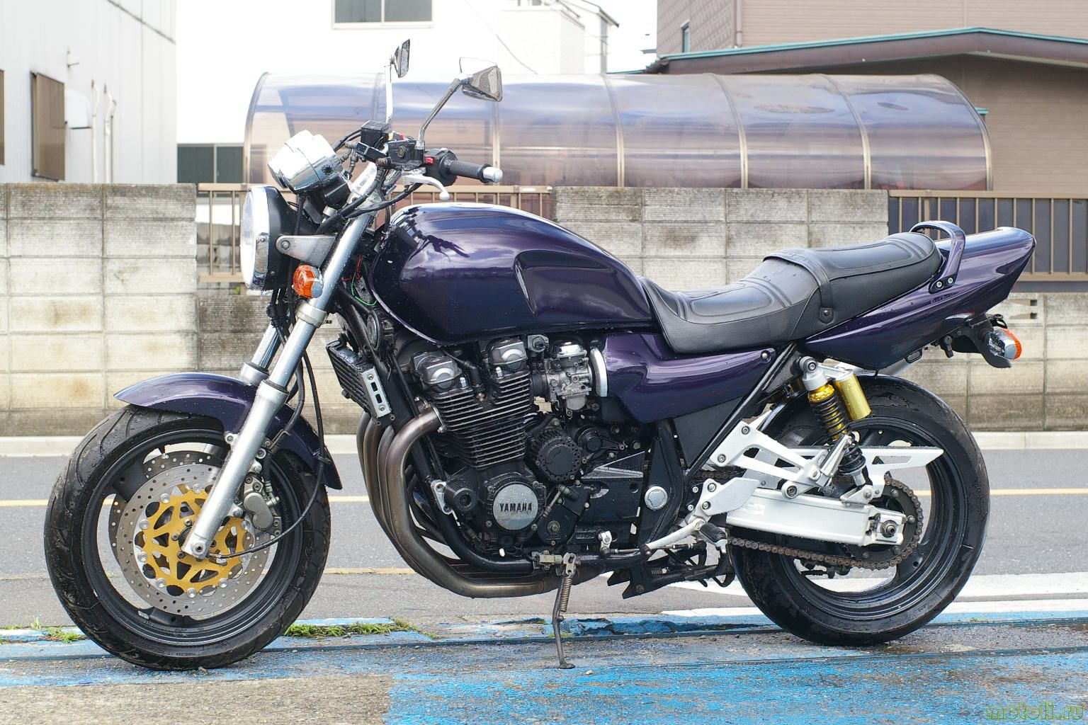 Тест-драйв мотоцикла Yamaha XJR400