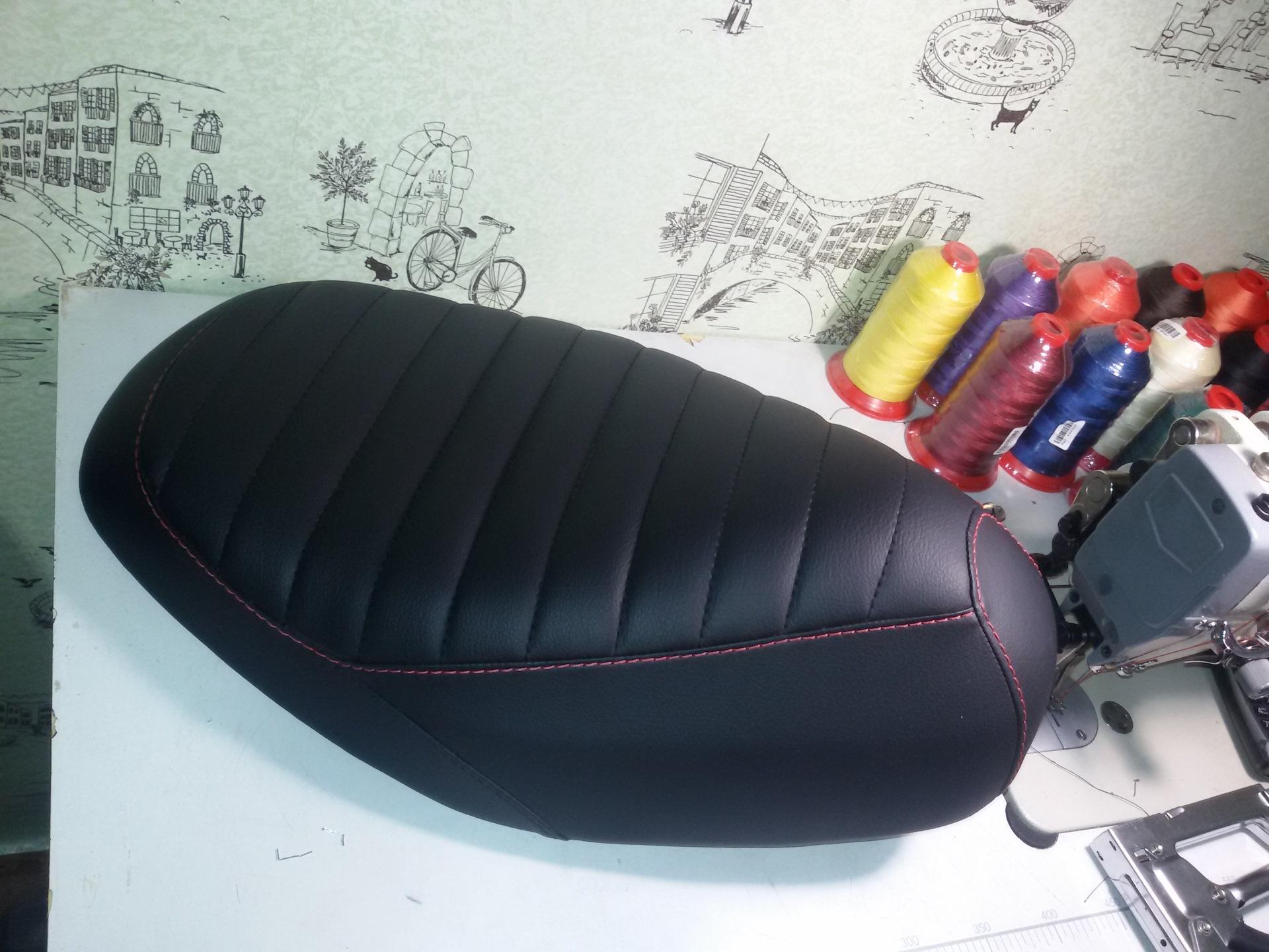 Перетяжка сиденья скутера, делаем сами