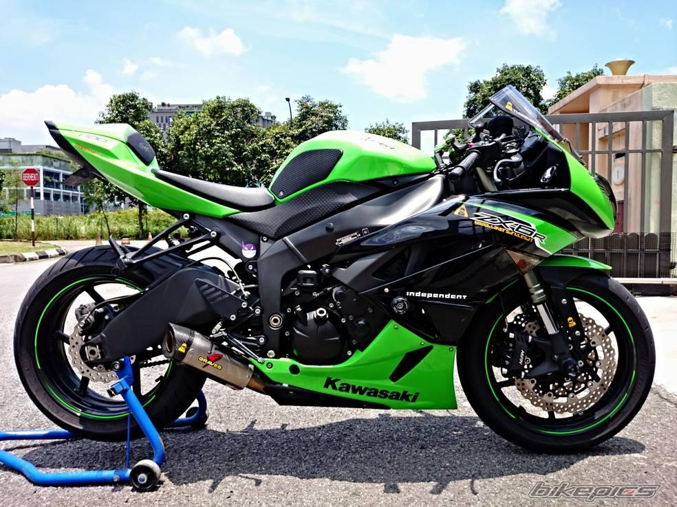 Обзор спортивного мотоцикла Kawasaki Ninja (Кавасаки Ниндзя) 600 (ZX 6R)