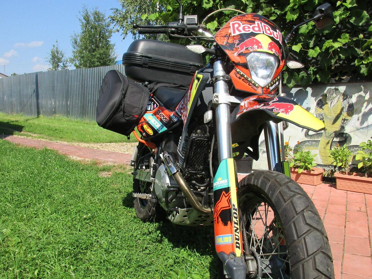 Baltmotors Motard 250: супермото по-калининградски