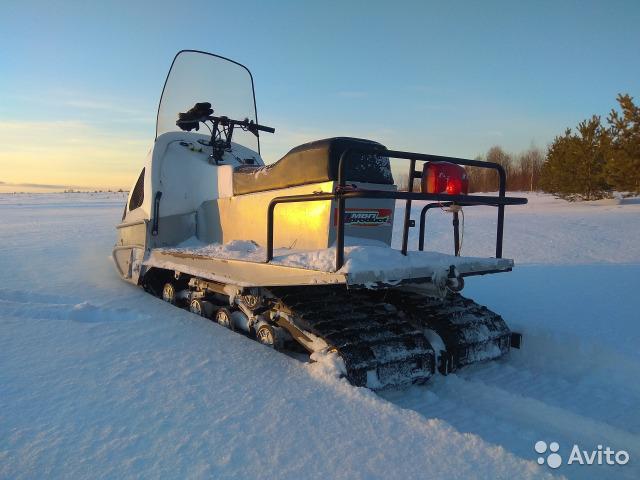 Описание русских снегоходов МВП