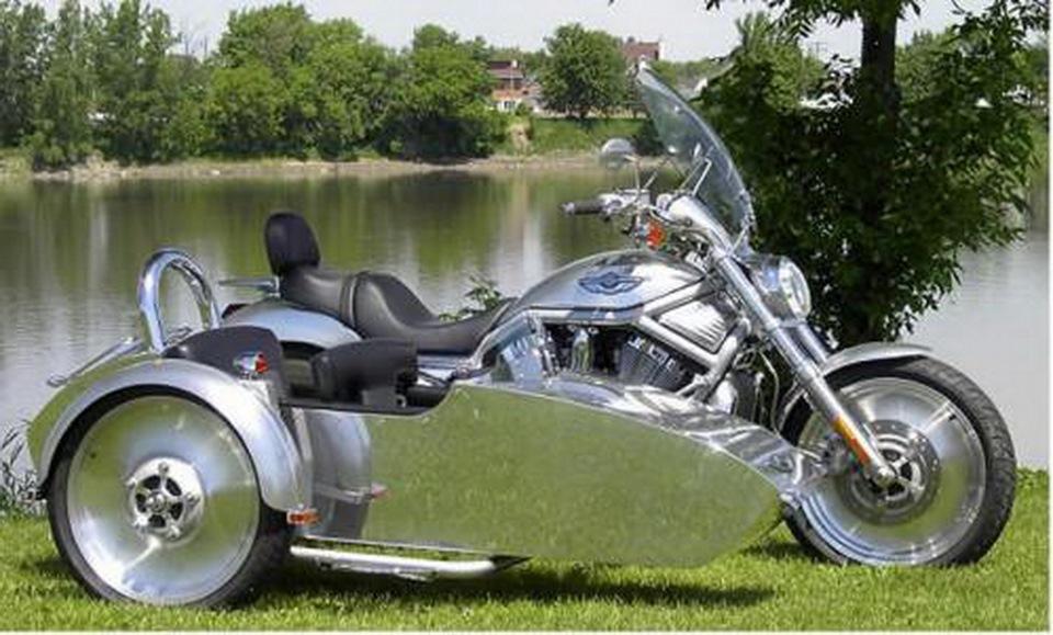 Мотоциклы с коляской