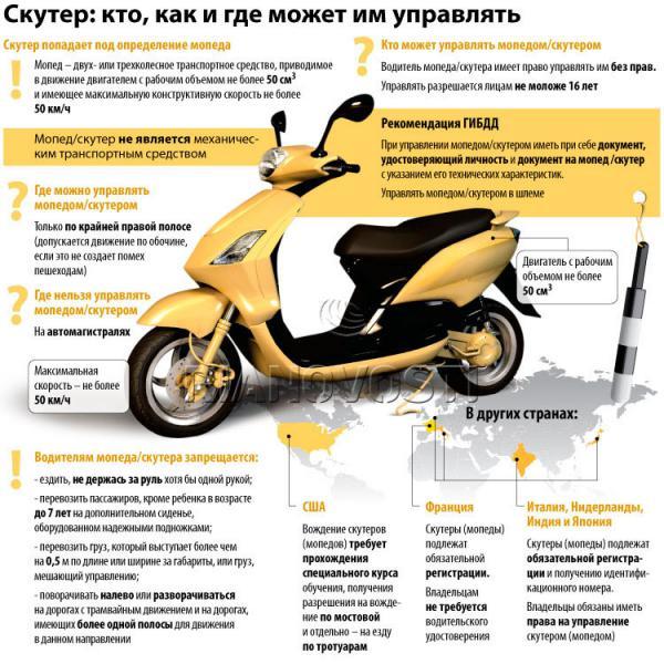 Эксплуатация скутера в летний период