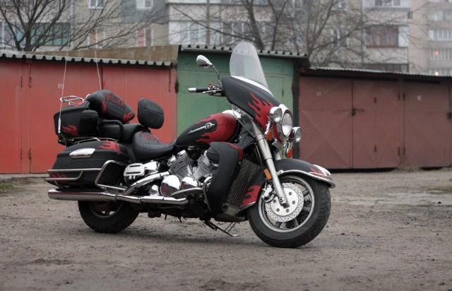 Тест-драйв мотоцикла Yamaha XVZ1300 Royal Star