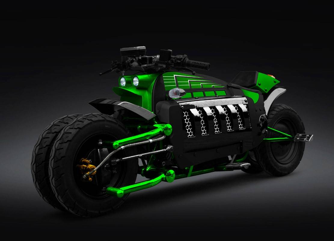 Dodge Tomahawk V10 Superbike — Абсолютная Мощь!