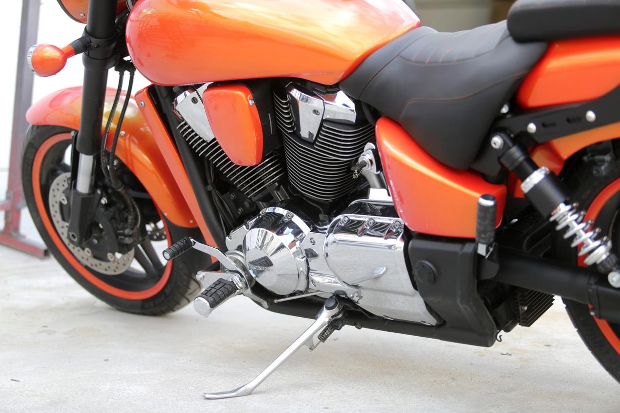 Honda VTX 1800: любовь с первого километра
